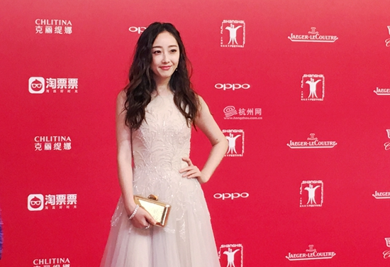 上影节红毯 上海国际电影节红毯 女星走红毯